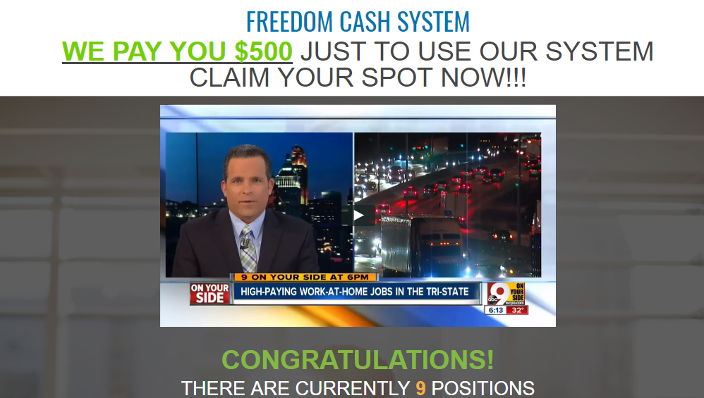 Freedom Cash System