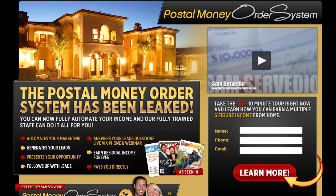 The Postal Money Order System