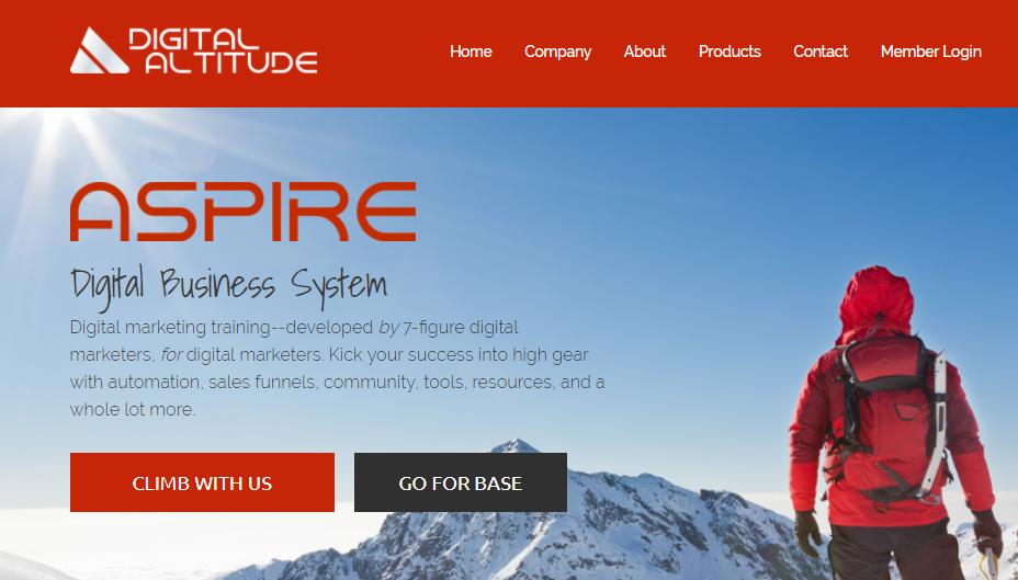 Aspire pyramid scheme