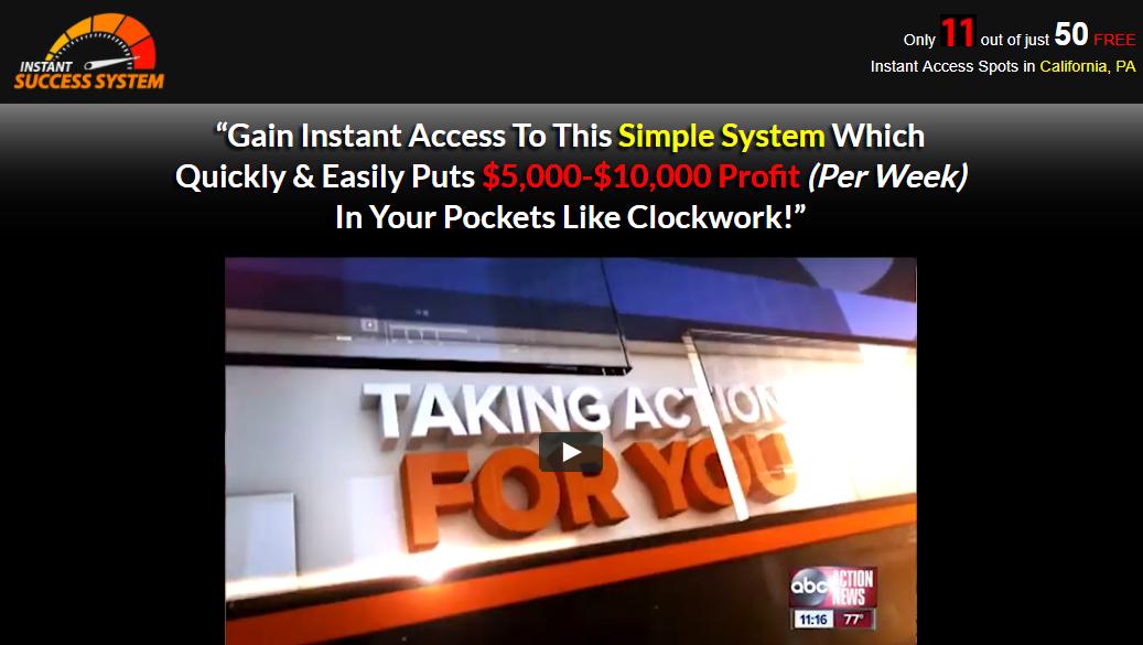 Instant Success System