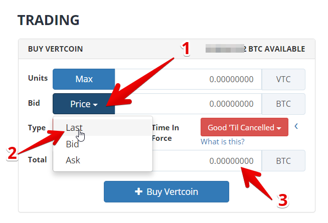 Vertcoin to btc : Qsp coin là gì 7 tầngh