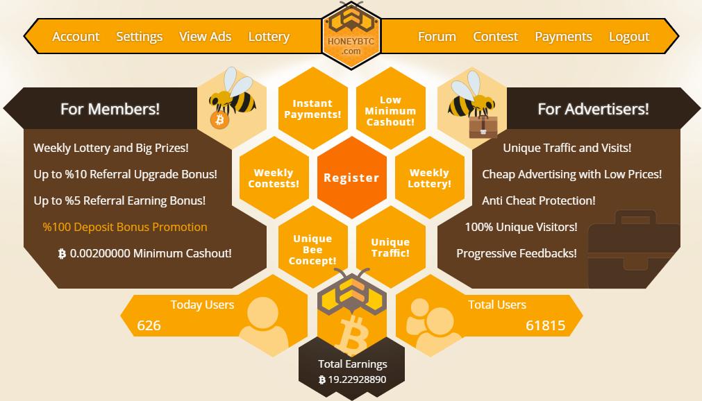 HoneyBTC.com