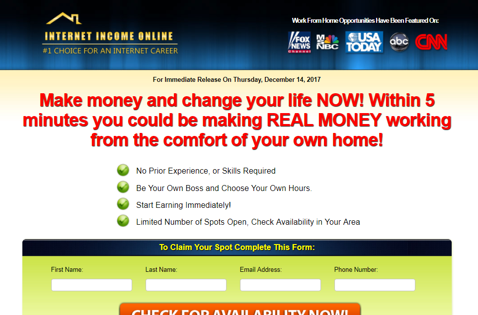 Internet Income Online