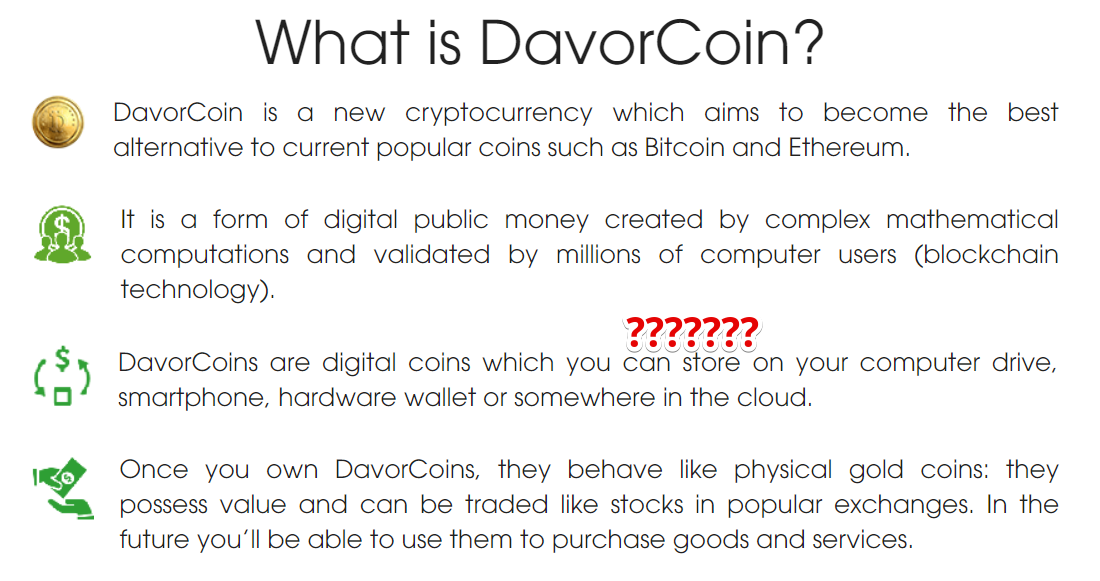what is davor coin