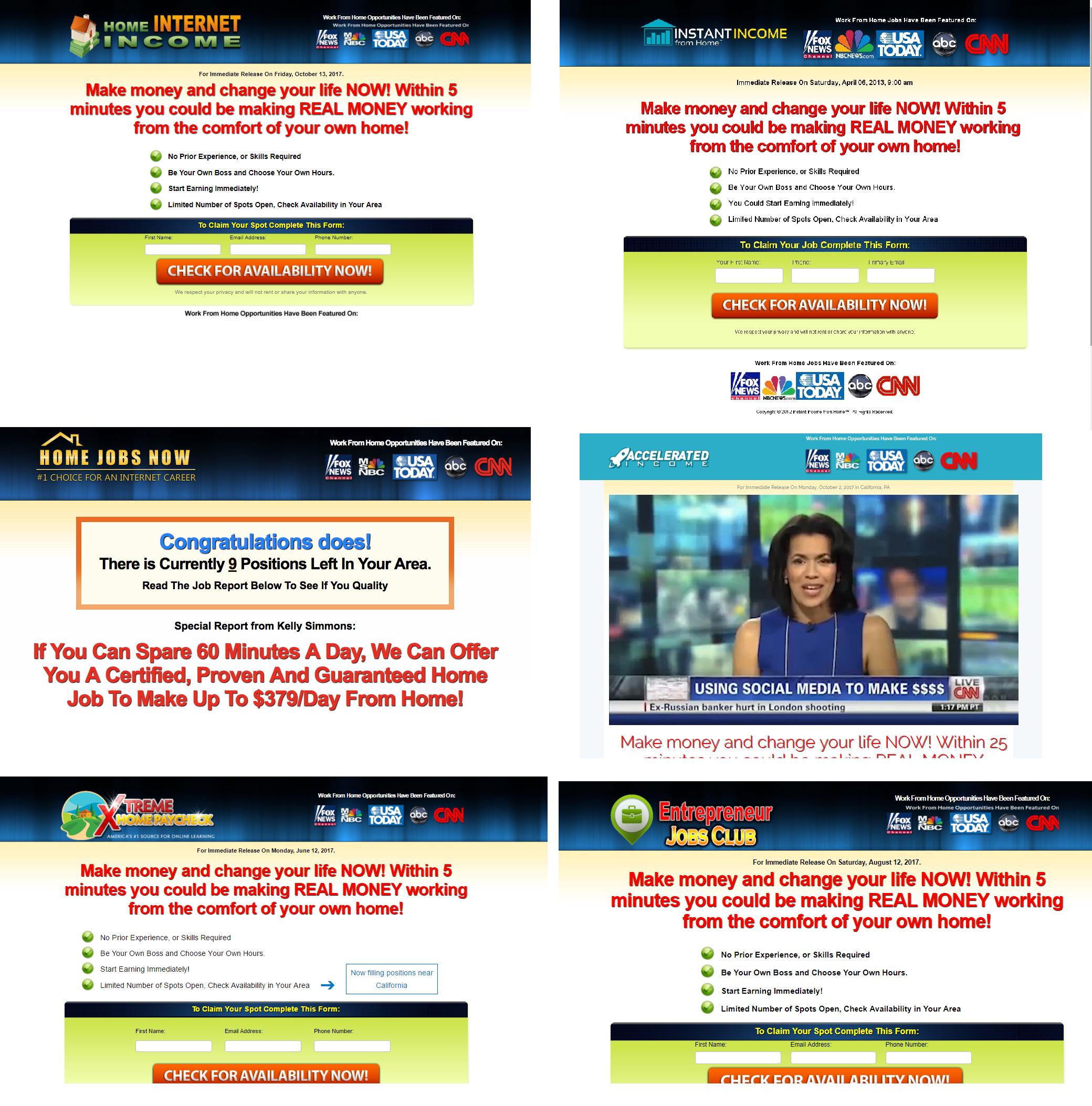 link posting scams