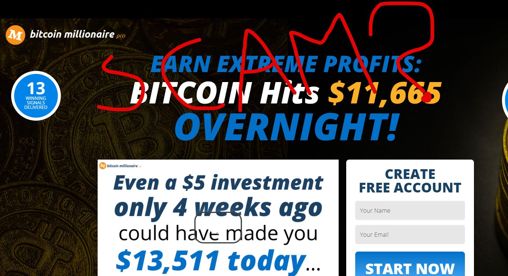 Bitcoin Millionaire Pro