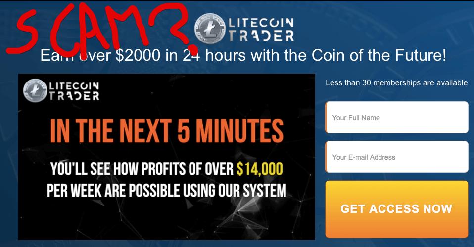 Litecoin Trader Scam