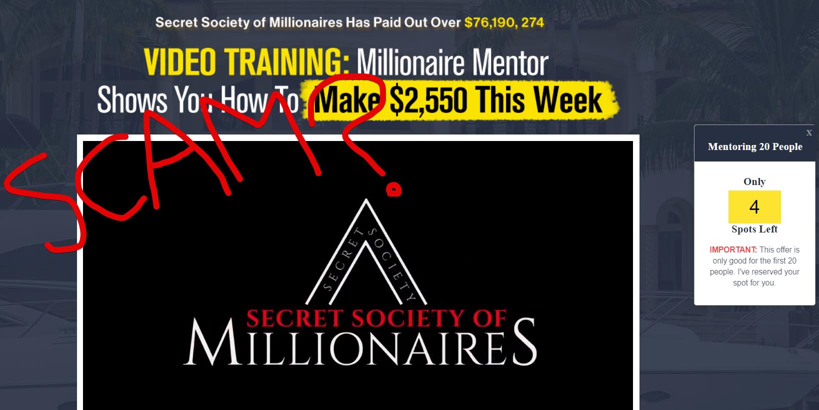 Secret Society of Millionaires