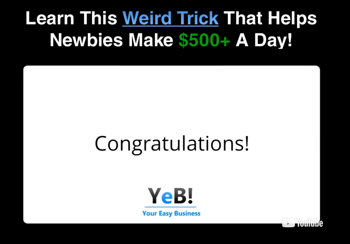 Your Easy Business scam