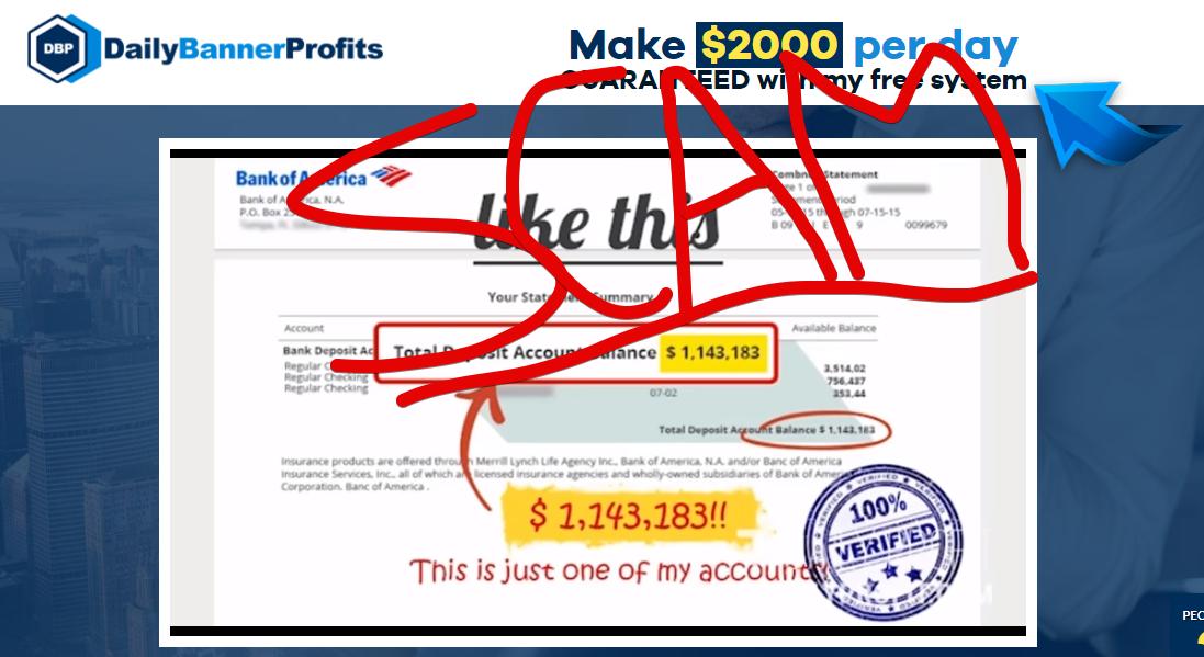 DailyBannerProfits scam