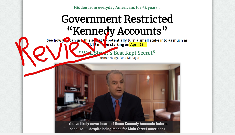 Kennedy Accounts scam