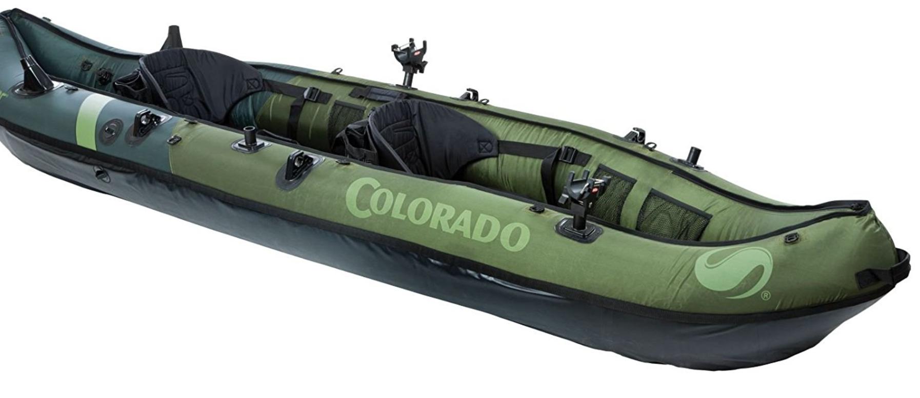 Sevylor Coleman Colorado Fishing Kayak