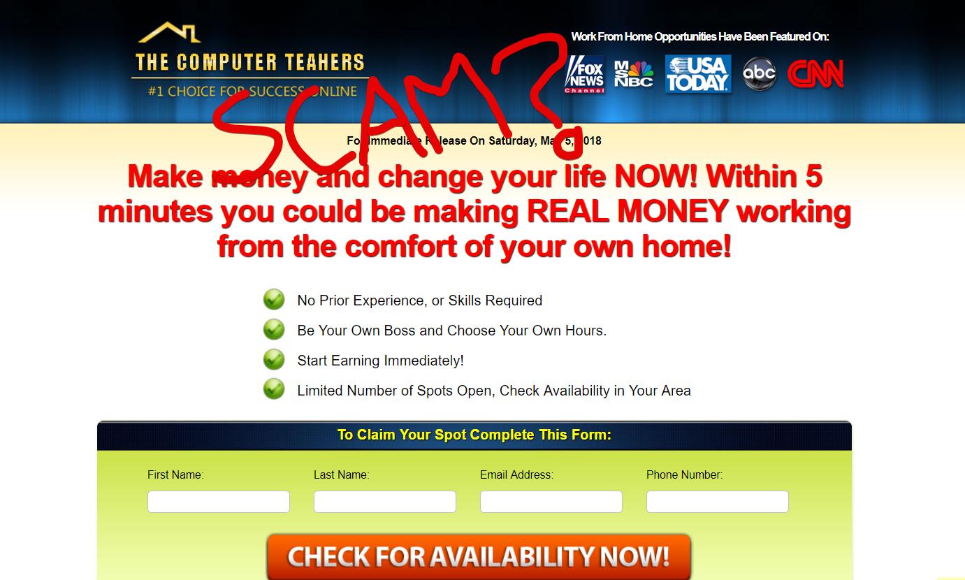 The Computer Teachers scam