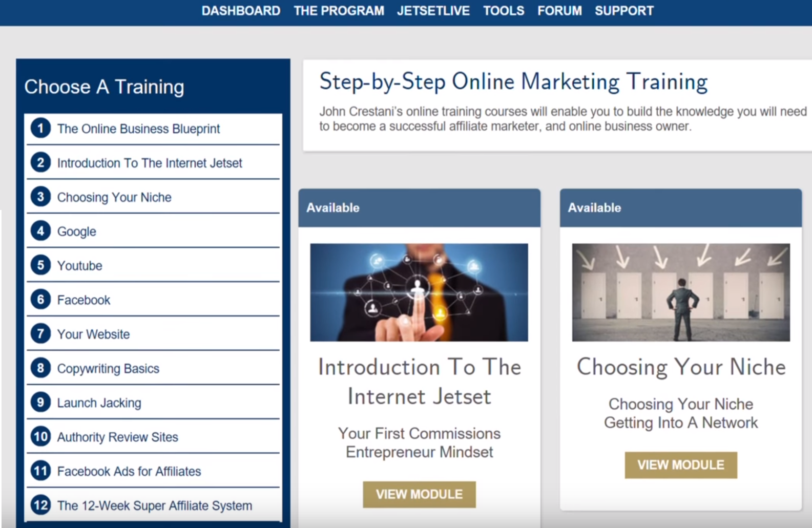 Internet jetset scam or is this training as good as they say the online business blueprint malvernweather Image collections