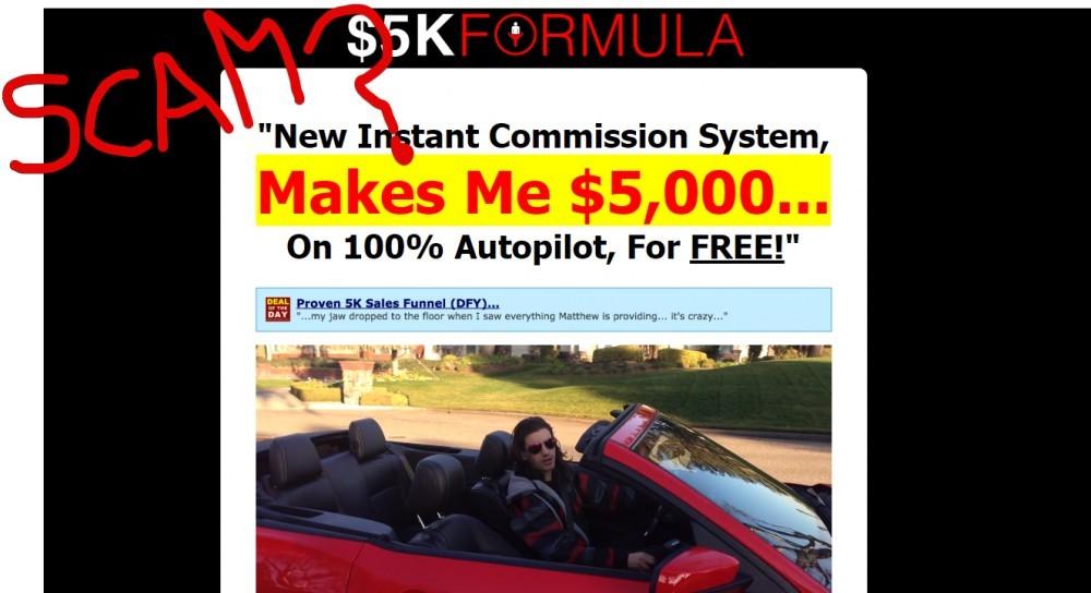 5K Formula scam