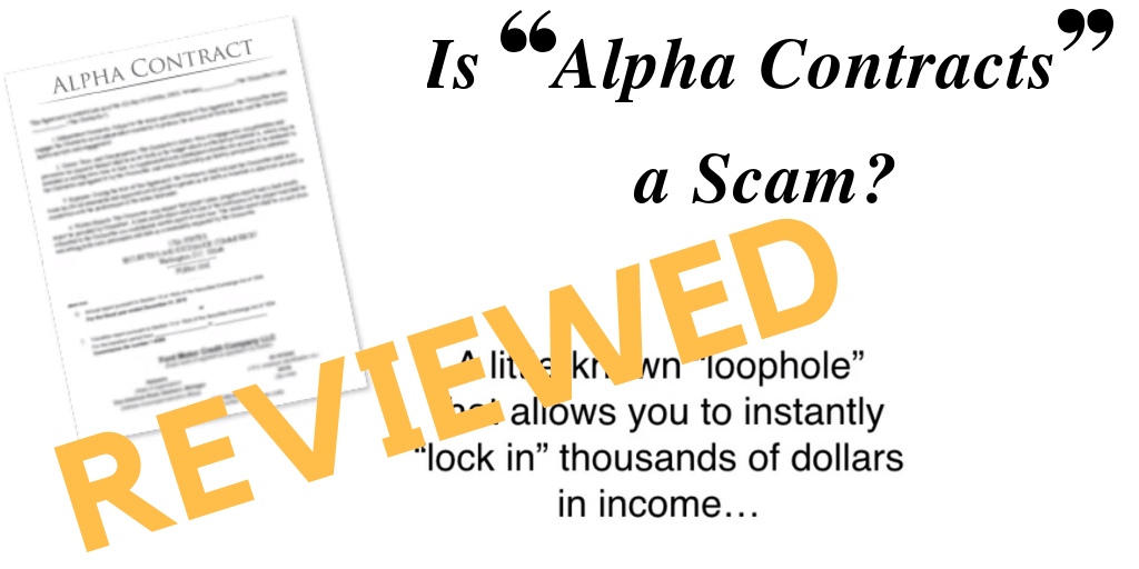 Is Alpha Contracts a Scam