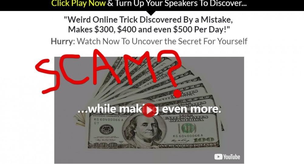 Cash at Home Bonanza scam