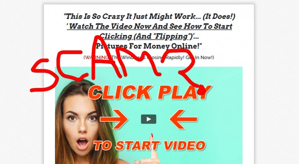 Click and Flip System scam