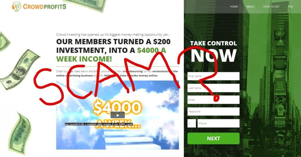 Crowd Profits scam