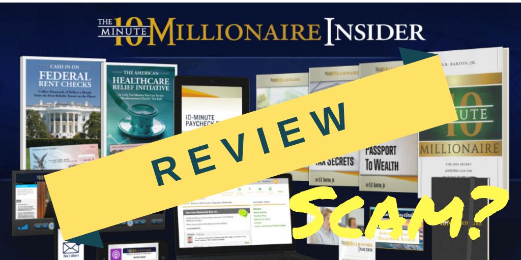 10 Minute Millionaire Review