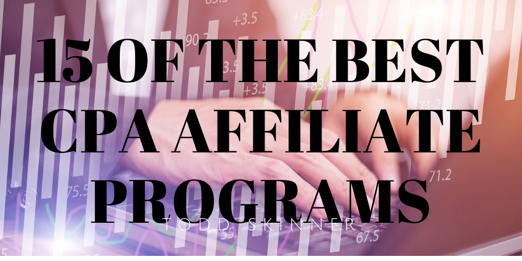 best CPA affiliate programs