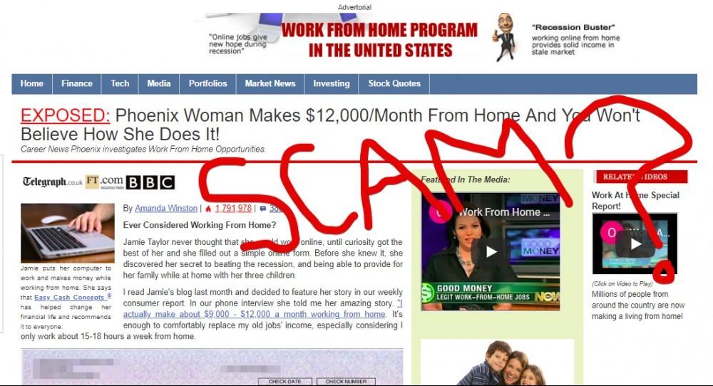 Easy Cash Concepts scam