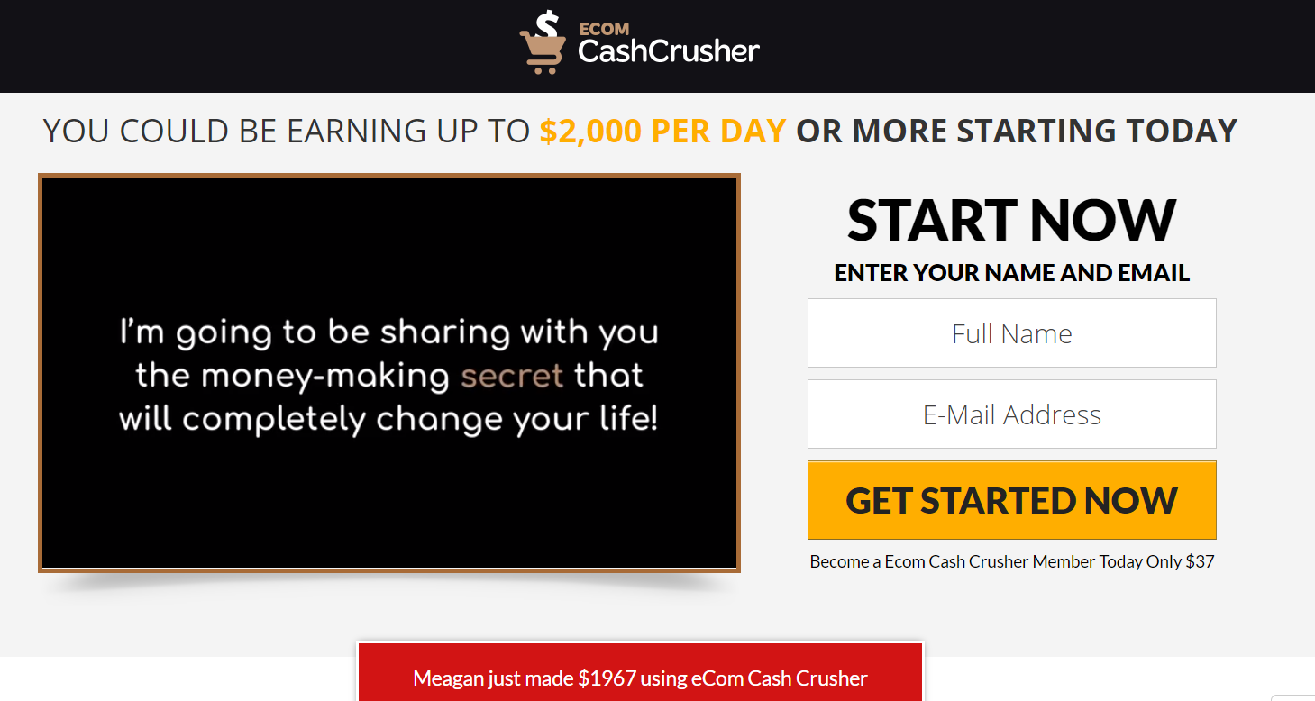 Ecom Cash Crusher screenshot