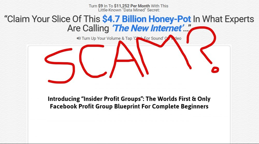 Insider Profit Groups Scam