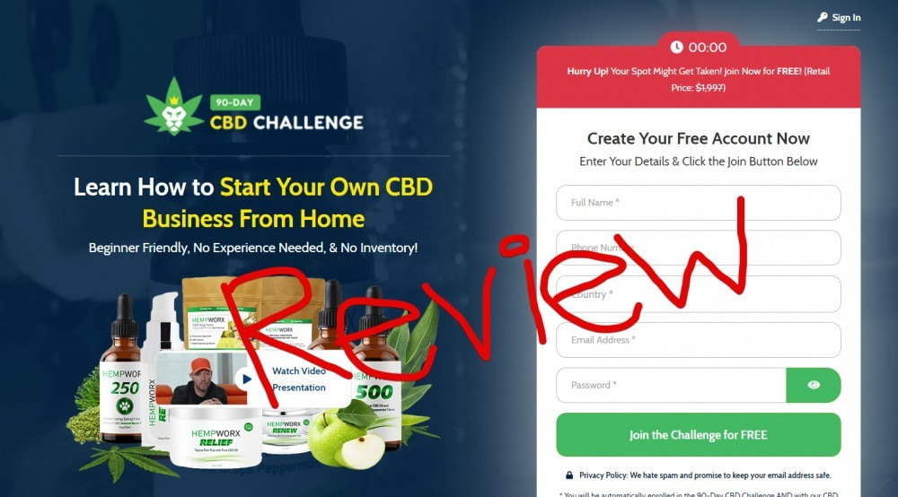 What Is The 90 Day CBD Challenge? – Another Potential Scam