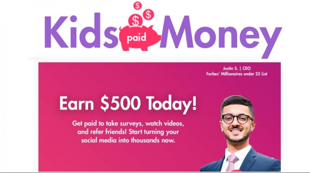 Kids Paid Money Legit