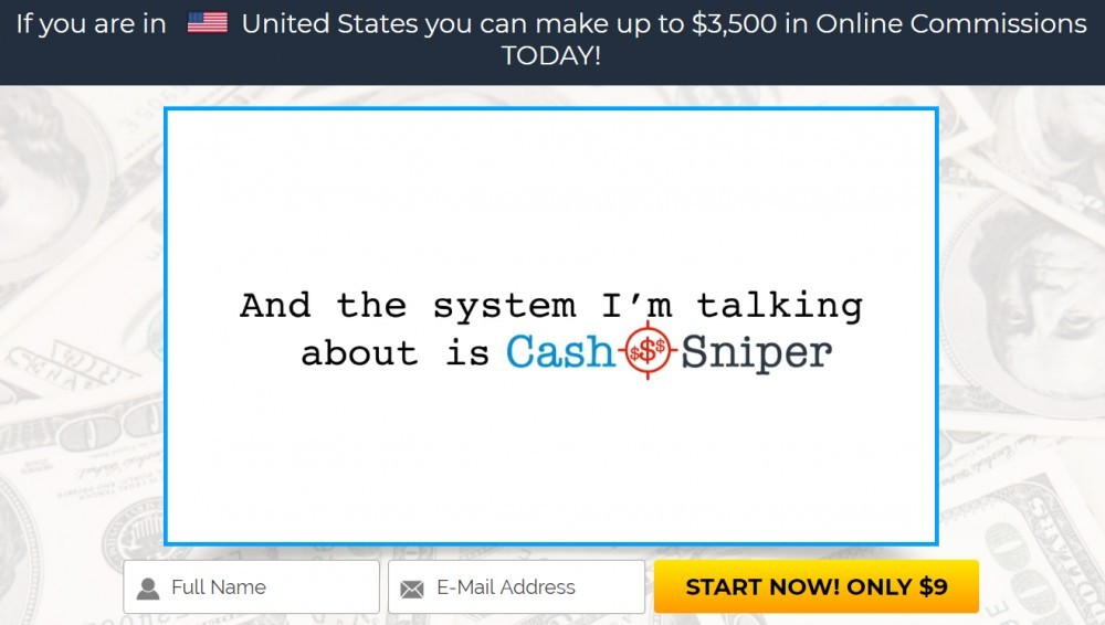 Cash Sniper Screenshot