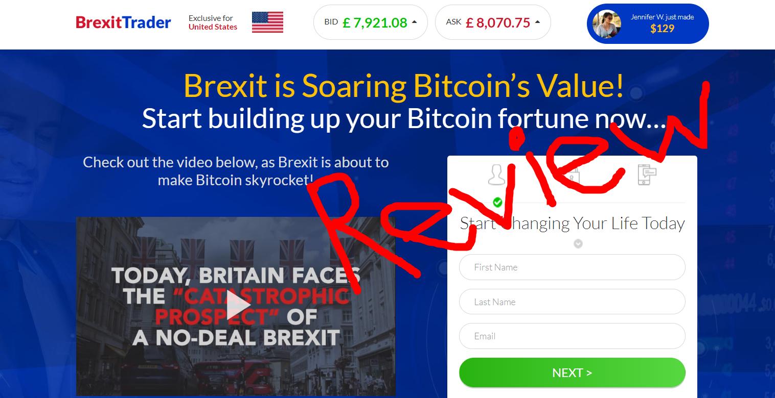 Brexit Trader Scam